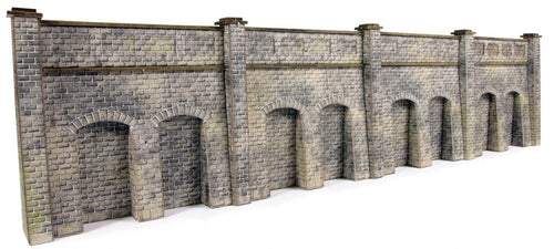 METCALFE PN144 N GAUGE RETAINING WALL STONE STYLE - (PRICE INCLUDES DELIVERY)