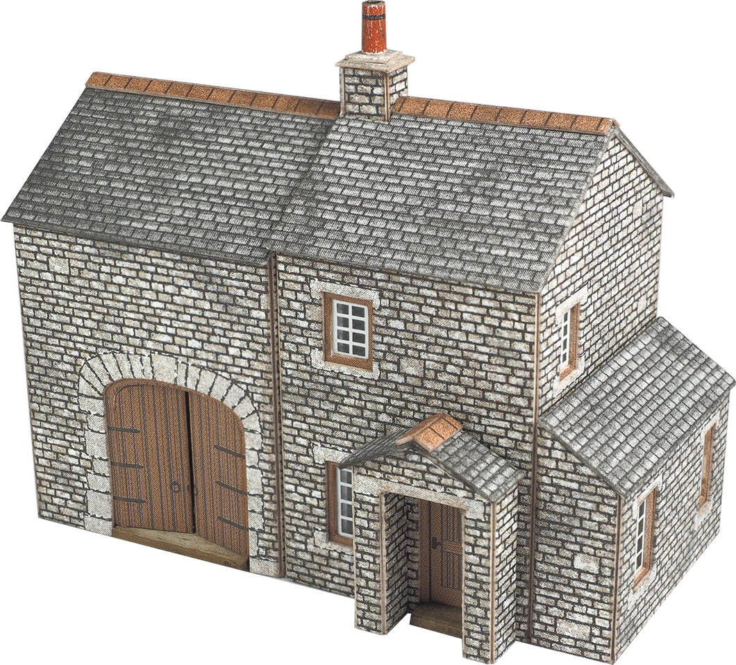 METCALFE PN159 N GAUGE CROFTER'S COTTAGE - (PRICE INCLUDES DELIVERY)