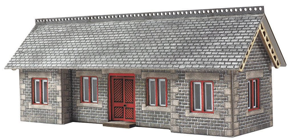 METCALFE PN934 N GAUGE S. & C. STATION SHELTER - (PRICE INCLUDES DELIVERY)