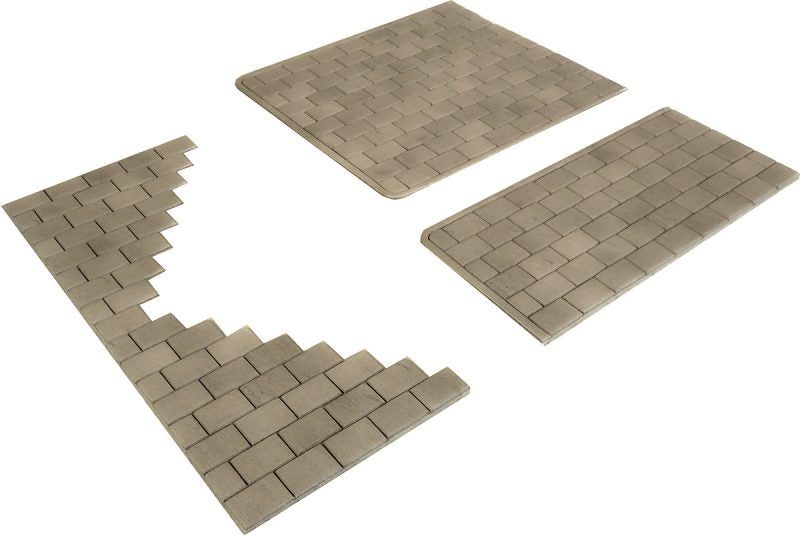 METCALFE PO210 OO/1.76 INDIVIDUAL STONE PAVING SLABS - (PRICE INCLUDES DELIVERY)