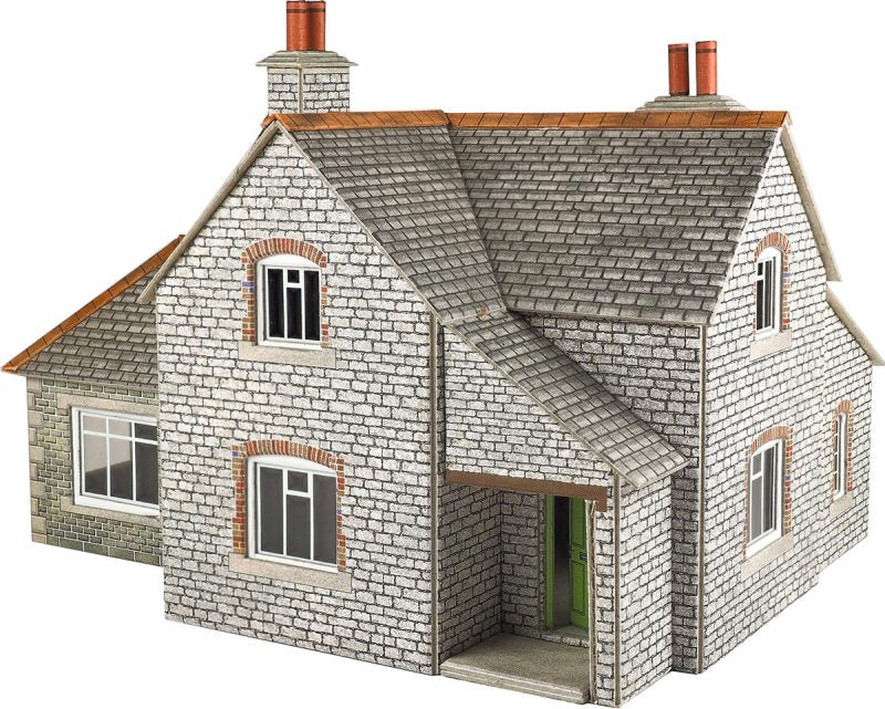 METCALFE PO257 OO/1:76 GRANGE HOUSE - (PRICE INCLUDES DELIVERY)