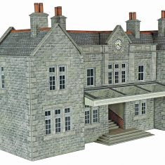 METCALFE PO320 OO/1:76 BOOKING HALL MAINLINE STATION - (PRICE INCLUDES DELIVERY)