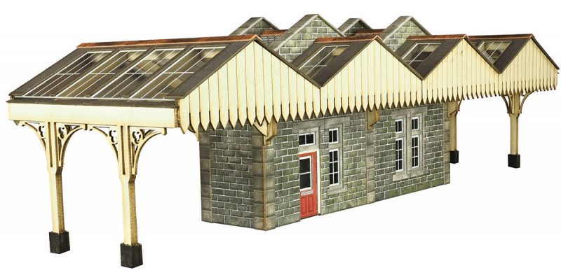 METCALFE PO322 OO/1:76 ISLAND PLATFORM BUILDING - (PRICE INCLUDES DELIVERY)