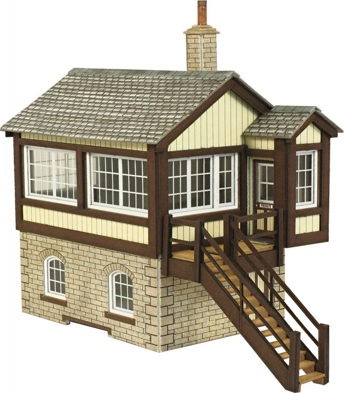 METCALFE PO330 OO/1:76 GWR SIGNAL BOX - (PRICE INCLUDES DELIVERY)