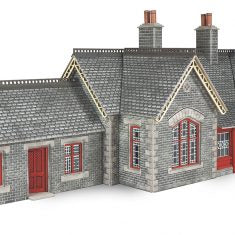 METCALFE PO333 OO/1:76 RAILWAY STATION SETTLE CARLISLE - (PRICE INCLUDES DELIVERY)