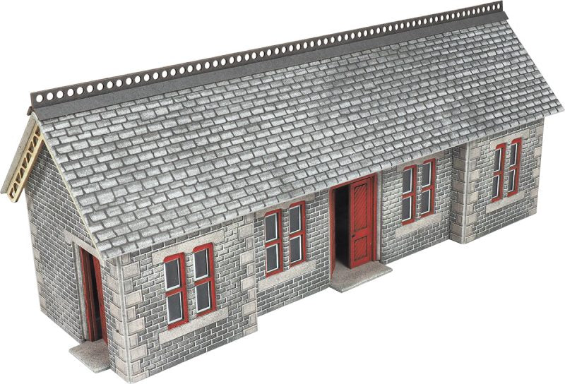 METCALFE PO334 OO/1:76 STATION SHELTER SETTLE CARLISLE  - (PRICE INCLUDES DELIVERY)