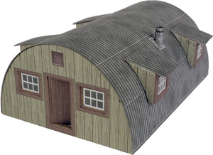 METCALFE PO415 OO/1:76 NISSEN HUT - (PRICE INCLUDES DELIVERY)