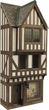 Load image into Gallery viewer, METCALFE PO421 OO/1:76 LOW RELIEF HALF TIMBERED SHOP FRONT - (PRICE INCLUDES DELIVERY)