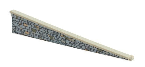 PECO LK-67 OO/1:76 PLATFORM EDGING RAMPS STONE TYPE - (PRICE INCLUDES DELIVERY)