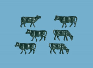 MODEL SCENE ACCESSORIES NO.5179 N GAUGE COWS - (PRICE INCLUDES DELIVERY)