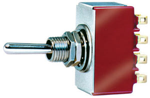 PECO LECTRICS PL-21 4-POLE DOUBLE THROW TOGGLE SWITCH - (PRICE INCLUDES DELIVERY)
