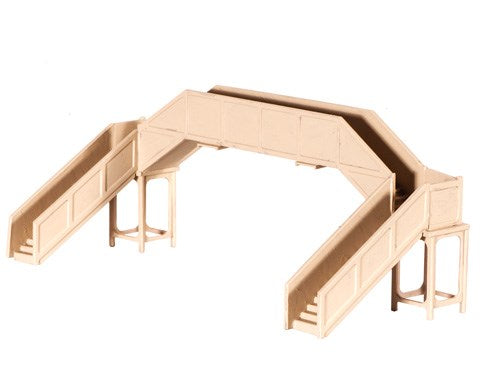 RATIO 222 N GAUGE FOOTBRIDGE (CONCRETE) - (PRICE INCLUDES DELIVERY)