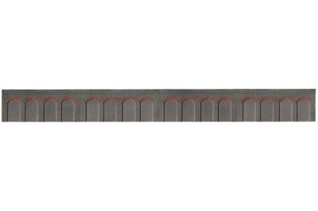 RATIO 239 N GAUGE RETAINING WALL (350MM LONG) - (PRICE INCLUDES DELIVERY)