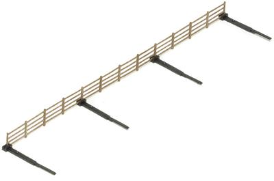 HORNBY R537 OO/1:76 LINESIDE FENCING - (PRICE INCLUDES DELIVERY)