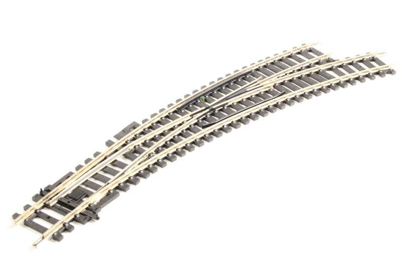 HORNBY R8075 OO/1:76 RIGHT HAND CURVED POINT - (PRICE INCLUDES DELIVERY)