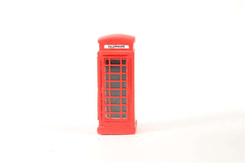 HORNBY SKALEDALE R8580 00/1:76 TELEPHONE KIOSK - (PRICE INCLUDES DELIVERY)