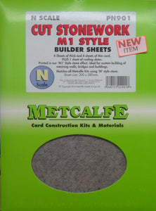 METCALFE CUT STONEWORK PN901 STYLE BUILDER SHEETS - (PRICE INCLUDES DELIVERY)