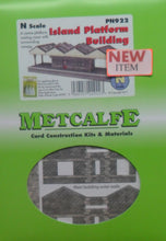 Load image into Gallery viewer, METCALFE PN941 N GAUGE WALL BACKED PLATFORM CANOPY - (PRICE INCLUDES DELIVERY)