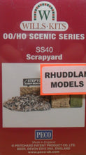 Load image into Gallery viewer, WILLS SS40 OO/1:76 SCRAPYARD - (PRICE INCLUDES DELIVERY)