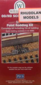 WILLS SS89 OO/1:76 POINT RODDING KIT - (PRICE INCLUDES DELIVERY).