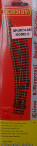 HORNBY R8074 OO/1:76 LEFT HAND CURVED POINT - (PRICE INCLUDES DELIVERY)