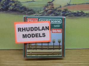 PECO MODEL SCENE 5050 OO/1:76 BR SPEED RESTICTION SIGNS - (PRICE INCLUDES DELIVERY)