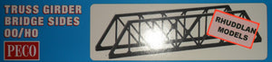 PECO LK-11 OO/1:76 TRUSS GIRDER BRIDGE SIDES - (PRICE INCLUDES DELIVERY)