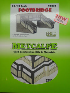 METCALFE PO236 OO/1:76 FOOTBRIDGE - (PRICE INCLUDES DELIVERY)