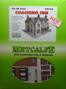 METCALFE PO228  OO/1.76 COACHING INN - (PRICE INCLUDES DELIVERY)