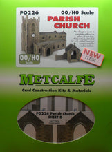 Load image into Gallery viewer, METCALFE PO226 OO/1.76 PARISH CHURCH - (PRICE INCLUDES DELIVERY)
