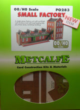 Load image into Gallery viewer, METCALFE PO283 OO/1.76 SMALL FACTORY - (PRICE INCLUDES DELIVERY)