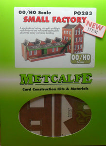 METCALFE PO283 OO/1.76 SMALL FACTORY - (PRICE INCLUDES DELIVERY)