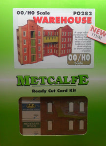 METCALFE PO282 OO/1.76 WAREHOUSE - (PRICE INCLUDES DELIVERY)