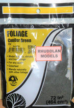 Load image into Gallery viewer, WOODLANDS SCENICS F54 FOLIAGE CONIFER GREEN - (PRICE INCLUDES DELIVERY)