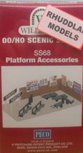 Load image into Gallery viewer, WILLS SS68 OO/1:76 PLATFORM ACCESORIES - (PRICE INCLUDES DELIVERY)