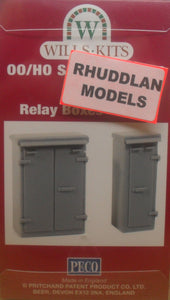 WILLS SS85 OO/1:76 RELAY BOX SET 1 - (PRICE INCLUDES DELIVERY)