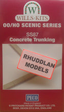 Load image into Gallery viewer, WILLS SS87 OO/1:76 CONCRETE TRUNKING - (PRICE INCLUDES DELIVERY)