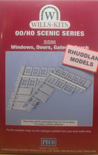 Load image into Gallery viewer, WILLS SS86 OO/1:76 WINDOWS, DOORS, GATES & PORCH - (PRICE INCLUDES DELIVERY)