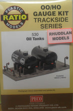 Load image into Gallery viewer, RATIO 530 OO/1:76 OIL TANKS - (PRICE INCLUDES DELIVERY)