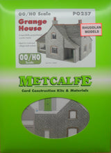 Load image into Gallery viewer, METCALFE PO257 OO/1:76 GRANGE HOUSE - (PRICE INCLUDES DELIVERY)