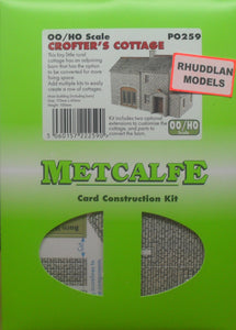 METCALFE PO259 OO/1:76 CROFTER'S COTTAGE - (PRICE INCLUDES DELIVERY)