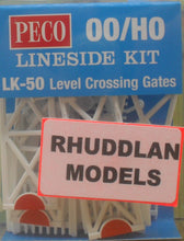 Load image into Gallery viewer, PECO LK-50 OO/1:76 LEVEL CROSSING GATES - (PRICE INCLUDES DELIVERY)