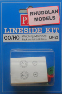 PECO LK-22 OO/1:76 WEIGHING MACHINES - (PRICE INCLUDES DELIVERY)