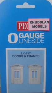 PECO LK-757 O/1:48 DOORS & FRAMES - (PRICE INCLUDES DELIVERY)