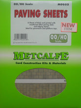 Load image into Gallery viewer, METCALFE M0055 OO/1.76 PAVING SHEETS - (PRICE INCLUDES DELIVERY)