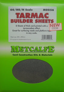 METCALFE M0056 OO/1.76 TARMAC BUILDER SHEETS - (PRICE INCLUDES DELIVERY)