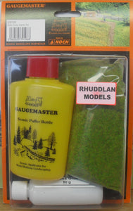 GAUGEMASTER GM 196 STATIC GRASS STARTER SET - (PRICE INCLUDES DELIVERY)