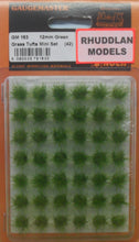 Load image into Gallery viewer, GAUGEMASTER GM 163 12MM GREEN GRASS TUFTS MINI SETS - (PRICE INCLUDES DELIVERY)