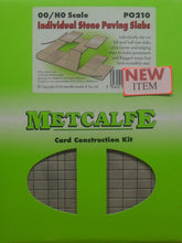 Load image into Gallery viewer, METCALFE PO210 OO/1.76 INDIVIDUAL STONE PAVING SLABS - (PRICE INCLUDES DELIVERY)