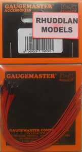 GAUGEMASTER ACCESSORIES GM70 G.O.W BULB x5 RED - (PRICE INCLUDES DELIVERY)